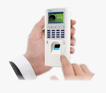 Classroom Attendance using Handheld Biometric Machine